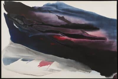 Paul Jenkins - Opera 1961 Phenomena Nearing Tundra