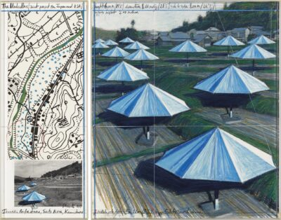 Christo - Opera 1989, THE UMBRELLAS (JOINT PROJECT FOR JAPAN AND WESTERN USA)